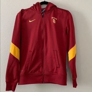 Nike Therma Fit USC Hooded ZIP Up
